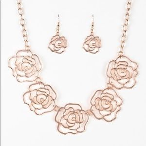 Fashionable Necklace and Earring Set